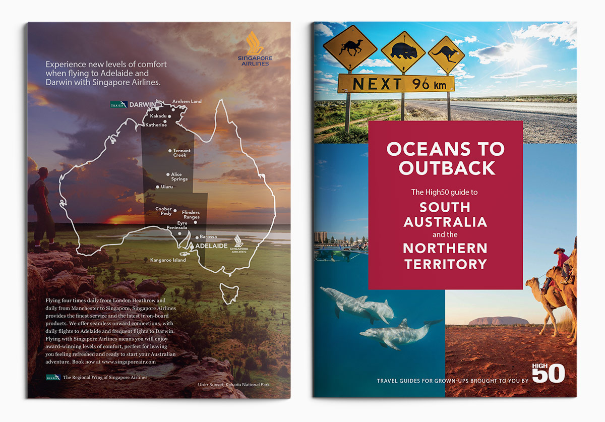 The High50 Australia Guides by Sabine Handtke