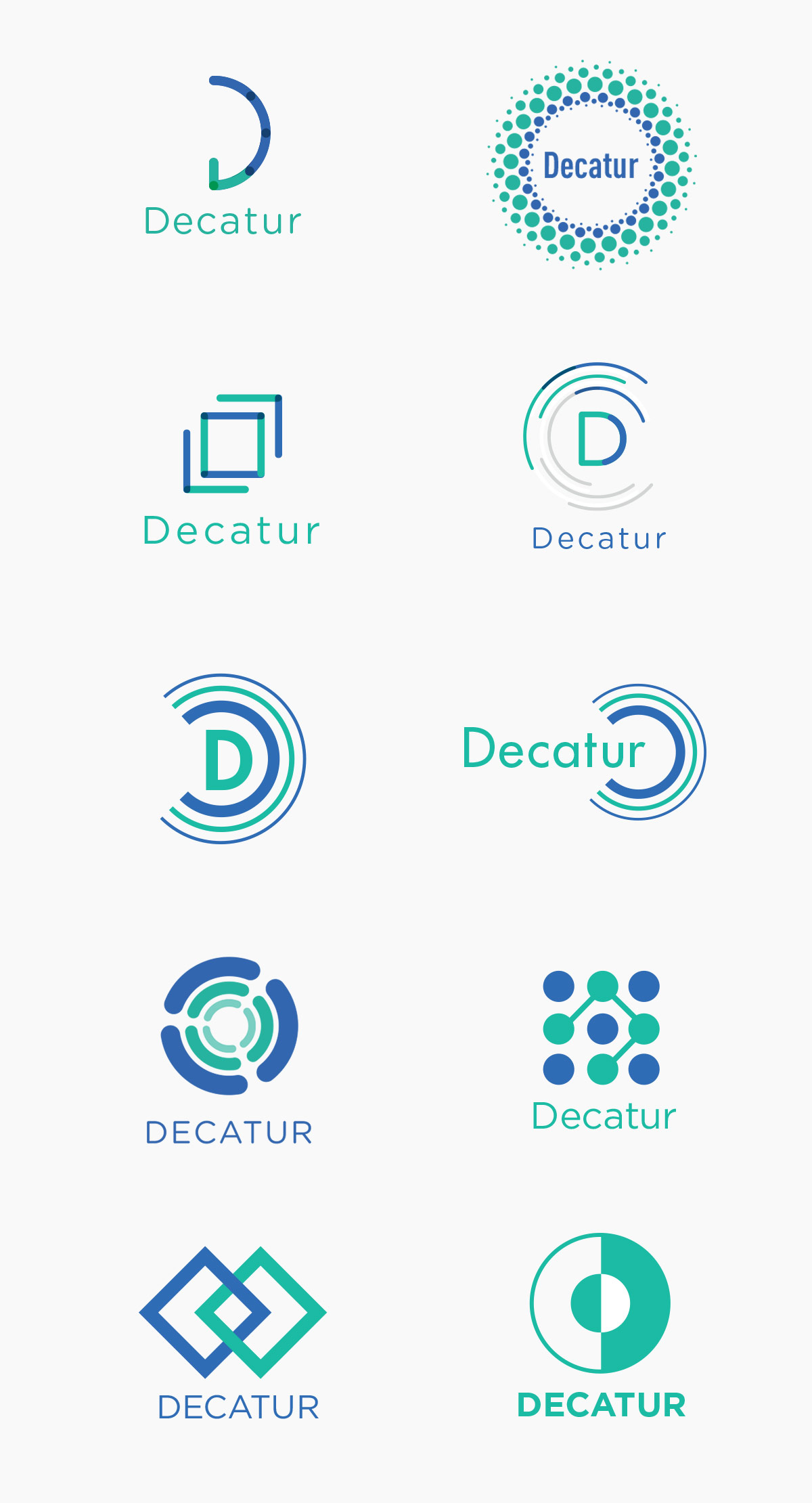Decatur logotype by Sabine Handtke